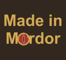 Made in Mordor by Kirdinn