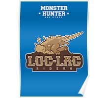 Monster Hunter All Stars - The Loc-Lac Riders Poster