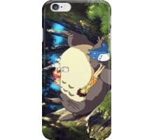 Totoro sleeping iPhone Case/Skin