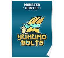 Monster Hunter All Stars - Yukumo Bolts Poster
