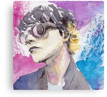 Gerard Way Art Is Smart Portrait  Canvas Print