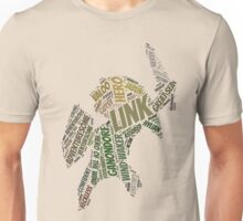 Wordle Toon Link 2 Unisex T-Shirt