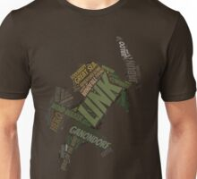 Wordle Toon Link 3 Unisex T-Shirt