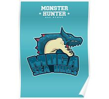 Monster Hunter All Stars - Moga Sea Dogs Poster