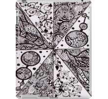 Ink Pattern Drawing 2 iPad Case/Skin