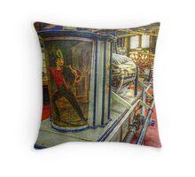 Old Gooseneck, 1821 - Antique Fire Wagon Throw Pillow