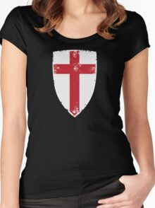 Flag of England Women's Fitted Scoop T-Shirt