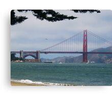 The SF Gate Canvas Print