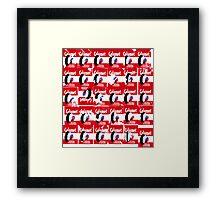 30 Calumet Labels Framed Print