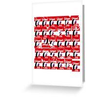 30 Calumet Labels Greeting Card
