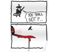 Poor Gandalf  Poster