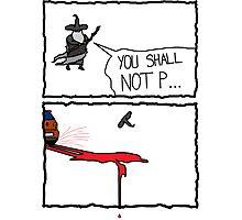 Poor Gandalf  Photographic Print
