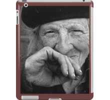 Portraits : BEST Marie beloved at Natural ... version 7 N & B  collector  1977 7  (c)(t) by Olao-Olavia / Okaio Créations iPad Case/Skin