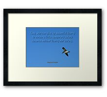 Liberty And Safety Framed Print