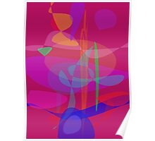 Beyond Minimalism Abstract Poster