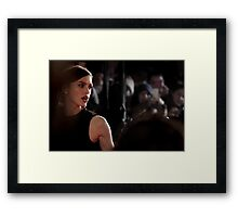 Glamour Shot Framed Print