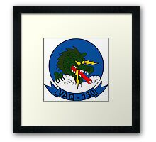 VAQ - 130 Airborne Electronic Attack Squadron - Yellow Jackets Framed Print