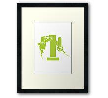 The Dentist Framed Print