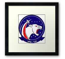 VFA - 131 Fighter Squadron - Wildcats Framed Print