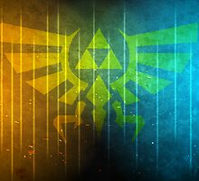 The Colorful Triforce by Lazard