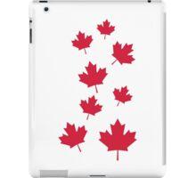 Canada maple leafs iPad Case/Skin