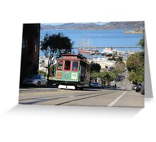 Cable Car Greeting Card