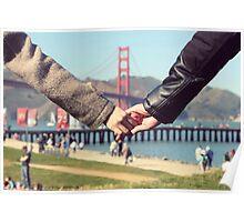 Love in San Francisco Poster