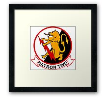 VAH - 2 HATRON Two -Heavy Attack Squadron Framed Print