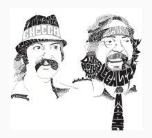 Cheech and Chong by felkiddo