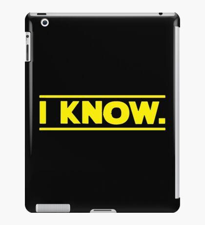 I know. iPad Case/Skin