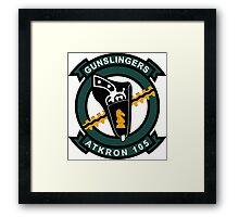 VA - 105 Gunslingers - ATKRON Framed Print