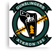 VA - 105 Gunslingers - ATKRON Canvas Print