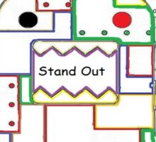Stand Out and Enjoy Color Sticker