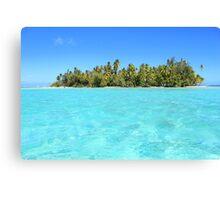 Remote, Island Paradise Canvas Print