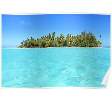 Remote, Island Paradise Poster