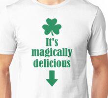 It's magically delicious shamrock Unisex T-Shirt