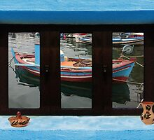 Window Into Greece 6 by Eric Kempson