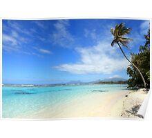 Remote Island Paradise - French Polynesia Poster
