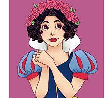 Snow White  by minteabunny