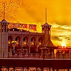 Roosting Starlings - Brighton Pier - HDR by Colin J Williams Photography