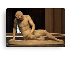The Dying Gaul - National Gallery of Art - Washington D.C. - Plate No. I  Canvas Print