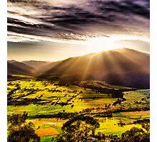 Sunrise @ Mt Beauty Photographic Print
