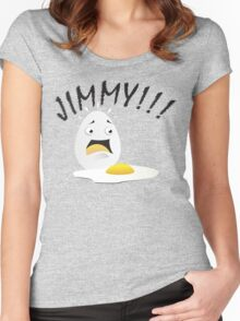 EGG!!! Women's Fitted Scoop T-Shirt