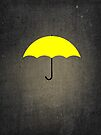 You are my Yellow Umbrella by Sophie Green