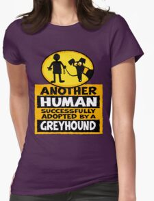 Another Human Womens Fitted T-Shirt