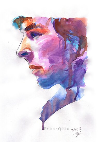 Sherlock: Watercolor by PashArts