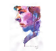 Sherlock: Watercolor Photographic Print
