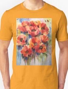 Ladies in Red Unisex T-Shirt