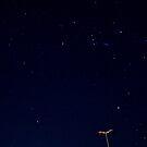 Urban Starry Night... by Luis Alberto Landa Ladrón de Guevara