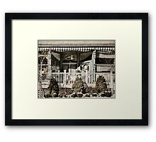 Manion General Merchandise Framed Print